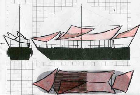 Parrish, Matt Sketch of The November Project roof design: one of a series 2012